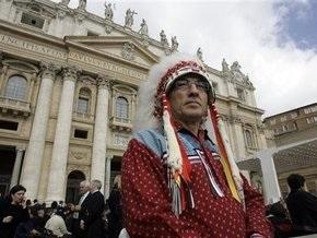 Папа Римский извинился перед канадскими индейцами