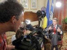 Ющенко дал интервью  New York Times