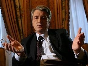 Ющенко: Вызовы, стоящие перед Украиной, лучше всего преодолевать консолидировано