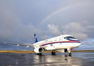 Самый современный самолет России не смог вылететь в Харьков из-за технической поломки