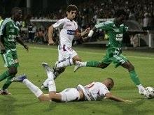Французская Лига 1: Бензема спасает Лион от поражения