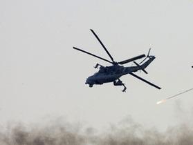 В горах Дагестана потерпел катастрофу военный вертолет