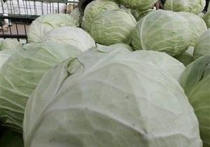 Украина за пять лет увеличила экспорт овощей в Россию в 17 раз