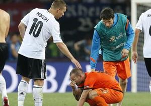 Евро-2012: немцы считают фаворитами сборные Германии и Испании