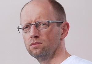 Яценюк ответил Клюеву иском