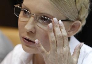 Печерский суд принял отказ Тимошенко от защитника