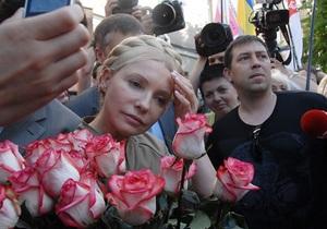 Фотогалерея: Ушла и вернулась. Тимошенко побывала на грани ареста