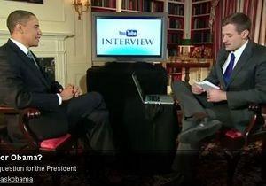 Завтра на YouTube состоится онлайн-интервью Обамы