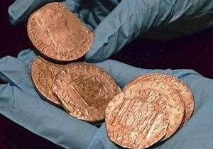Испания забрала из США старинные монеты ценой в полмиллиарда долларов