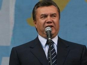 Янукович требует рассмотреть в парламенте газовый вопрос
