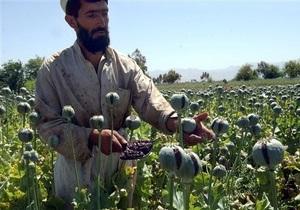 США отказались от программы уничтожения опийного мака в Афганистане