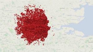 Создана первая интерактивная карта бомбежек Лондона