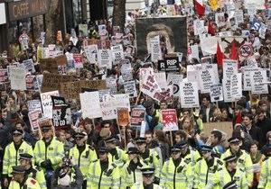 В Лондоне арестованы 24 участника студенческого марша