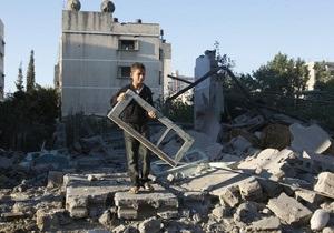 В секторе Газа ранен десятилетний украинец