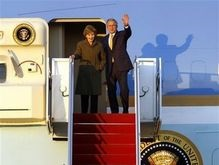 Буш завершил прощальное турне по Европе визитом в Северную Ирландию