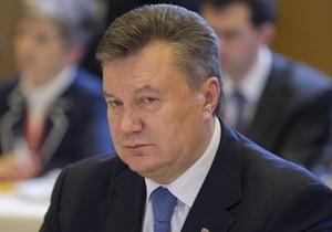 В пятницу Янукович проведет Итоговую пресс-конференцию