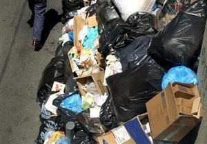 МЧС призывает коммунальные службы Киева своевременно вывозить мусор во избежание пожаров