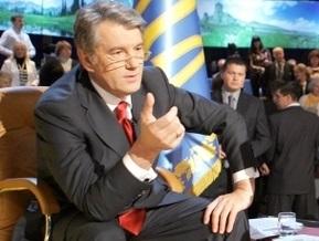 Ющенко настаивает на перевыборах