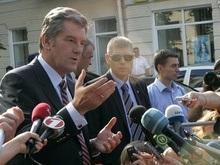 Ющенко заявил, что Жвания подготовил его отравление