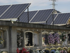 На испанском кладбище начали добывать электроэнергию