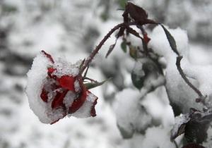 Синоптики обещают снег во всех регионах Украины