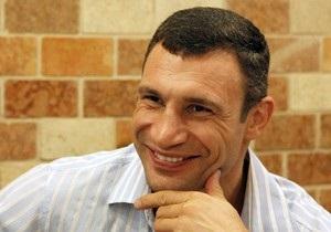 Кличко будет баллотироваться в мэры Киева