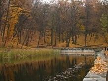 В Киеве реконструируют парк Нивки