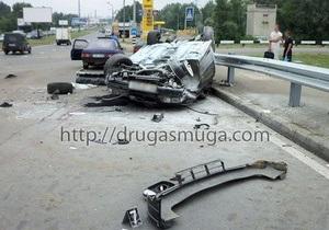 В Киеве BMW врезался в ГАЗель: есть погибшие