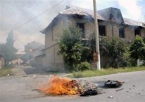 В Кыргызстане от беспорядков пострадали украинские семьи