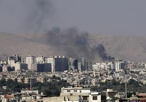 В христианском районе Дамаска смертник устроил взрыв, есть жертвы