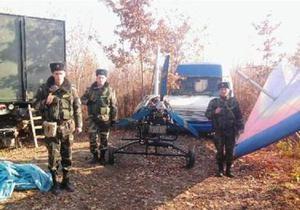 На Закарпатье контрабандисты переправляли на дельтаплане сигареты в Румынию