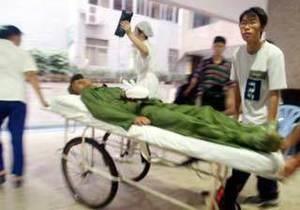 В Китае разгневанный водитель задавил девять человек