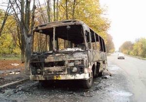 ГАИ: За январь-сентябрь в Украине по вине водителей автобусов погибли 62 человека