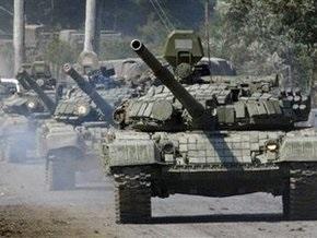 НГ: Танковый прорыв на грузинском направлении