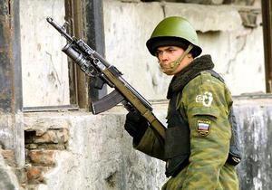 В Ингушетии боевики, блокированные в доме, подорвали себя
