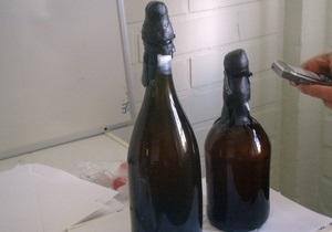 Дайверы обнаружили на дне Балтийского моря 200-летнее пиво