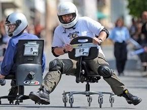 В Симферополе офисные работники устроят гонки на стульях в честь дня города
