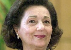 Жену Мубарака освободили из-под стражи