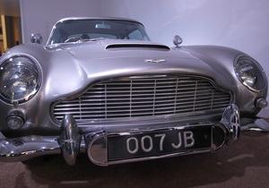 Крупный швейцарский промышленник выставил на продажу авто Джеймса Бонда