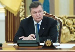 Янукович посетит Литву