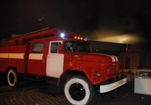 В Луганске неизвестные сожгли храм УПЦ КП