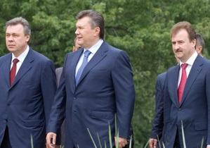 Янукович рассказал, что он хочет получить на день рождения
