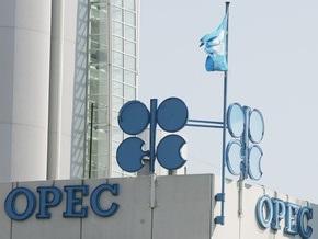 Цена нефтяной корзины ОПЕК впервые за 3,5 года упала ниже отметки 45 долл./барр.