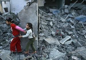Жертвами израильских атак в секторе Газа стали более 50 человек, в том числе дети