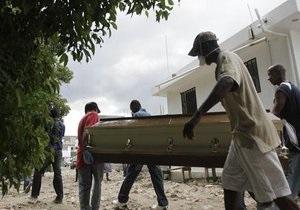 Число жертв эпидемии холеры на Гаити возросло до 135 человек