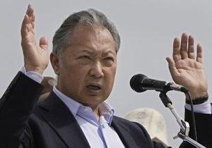 Глава временного правительства Кыргызстана подтвердила отставку Бакиева