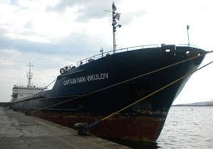 Пожар на сухогрузе Иван Викулов потушен