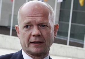 Хейг: Британские министры вряд ли поедут на Евро-2012