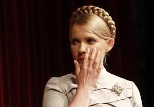 Ъ: Юлию Тимошенко выводят на чистый воздух