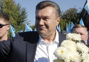 СМИ узнали о программе празднования дня рождения Януковича